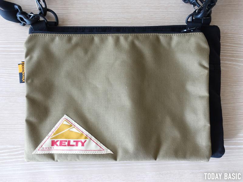 KELTY・ケルティのサコッシュ2種類を並べた画像