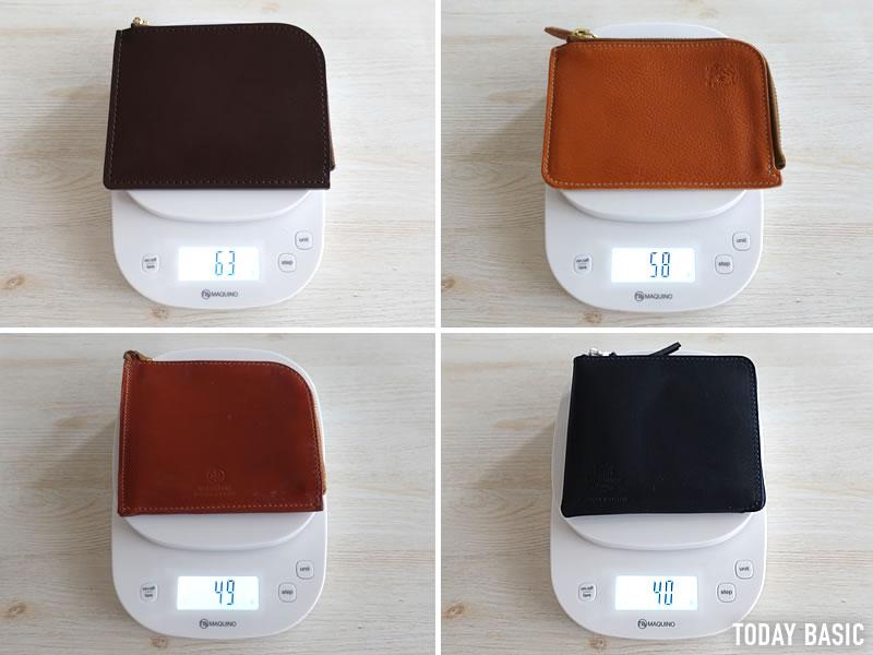 おしゃれなL字ファスナー財布の人気ブランドの比較画像