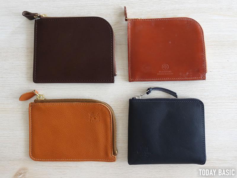 おしゃれなL字ファスナー財布の人気ブランドの画像