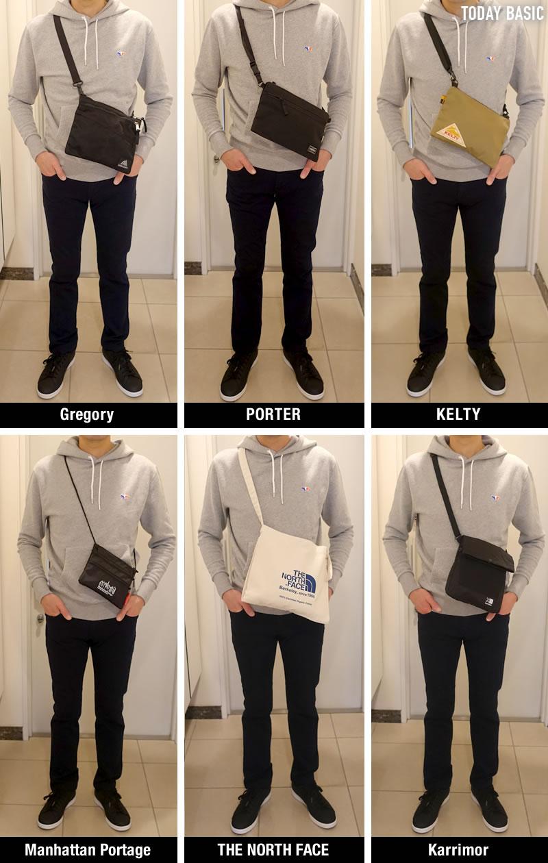 おしゃれなサコッシュバッグの人気ブランド一覧の画像