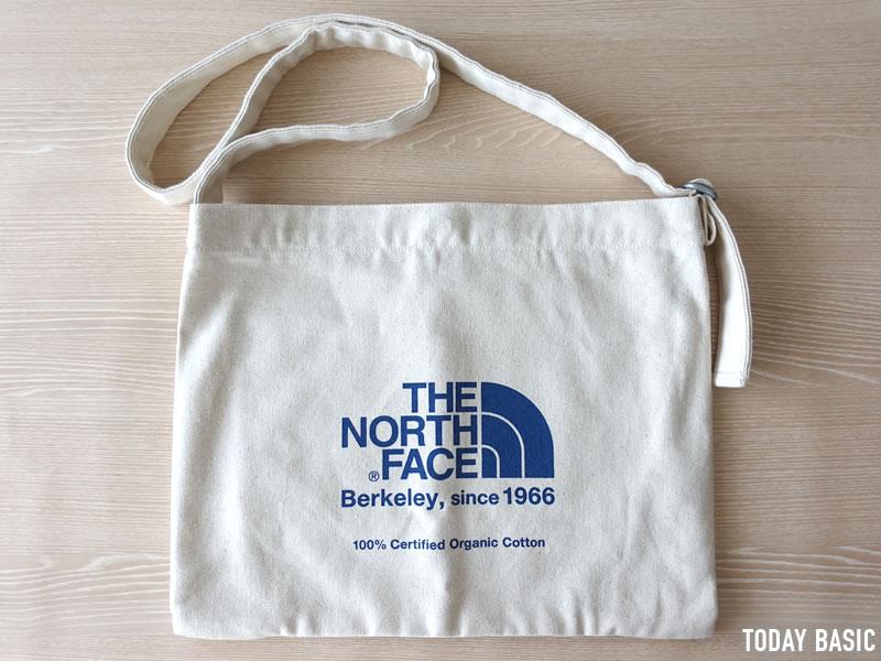 ザノースフェイスのミュゼットバッグのブログ画像