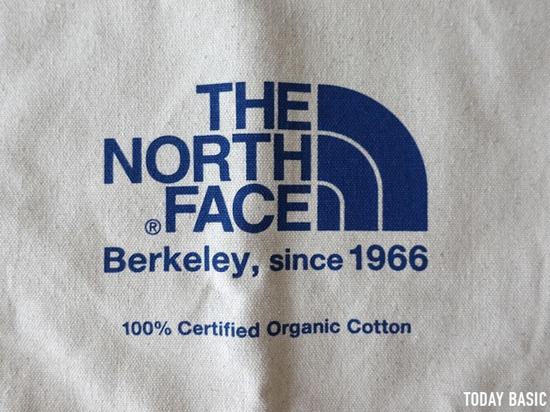 ザノースフェイスのミュゼットバッグにプリントされたロゴの画像