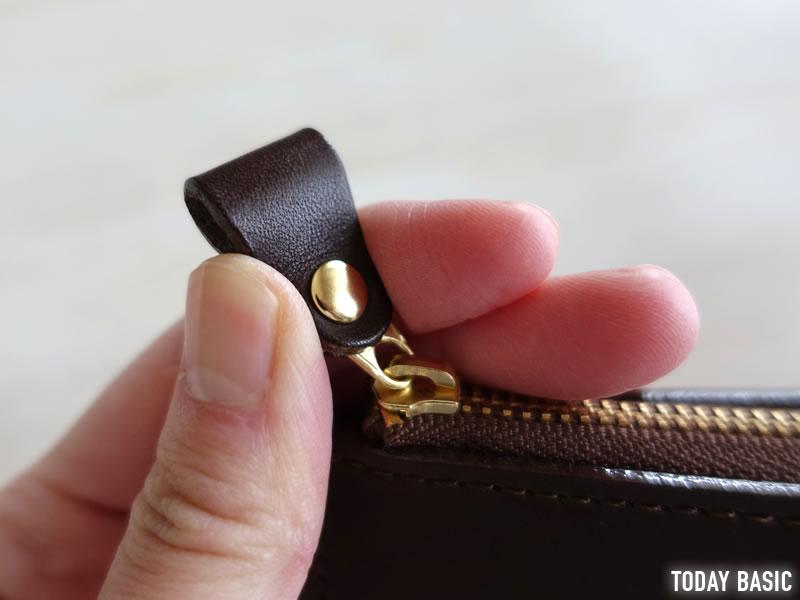 土屋鞄製造所のL字ファスナーのブログ画像