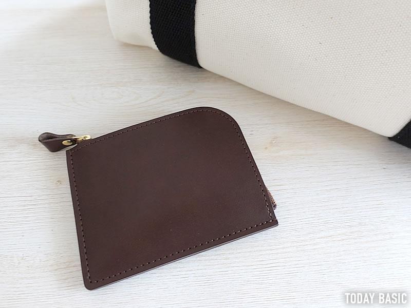 土屋鞄製造所のL字ファスナー財布の画像