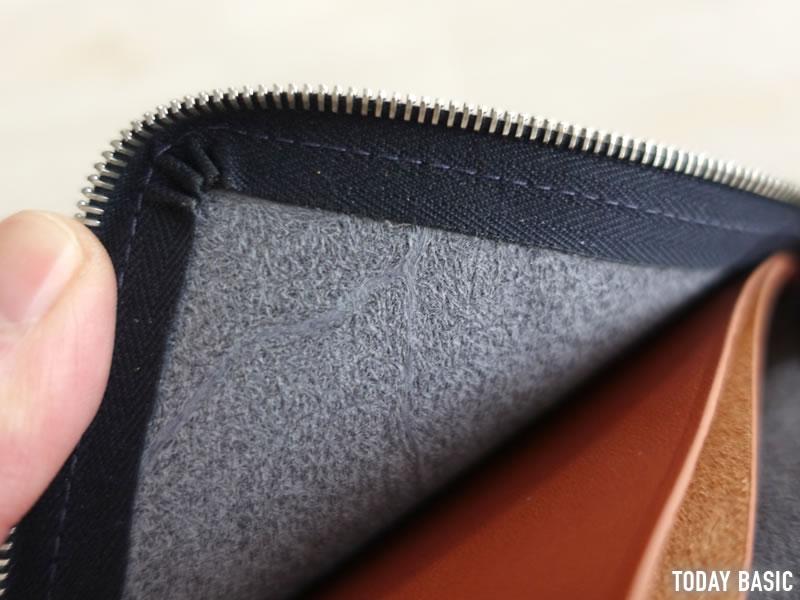 ホワイトハウスコックスのL字ファスナー財布の画像