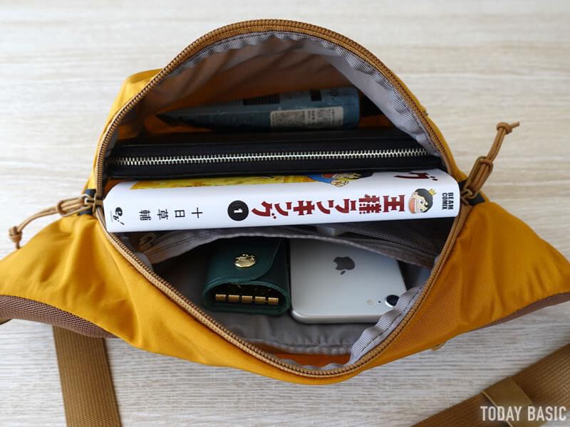 ザノースフェイスのウエストバッグ・オリオンのブログ画像