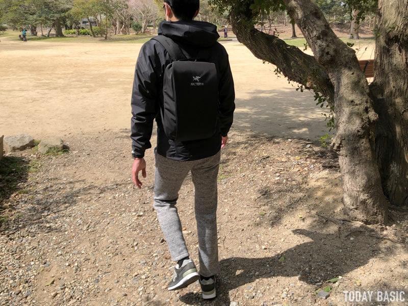 アークテリクスのゼータSLメンズジャケットのブログ画像