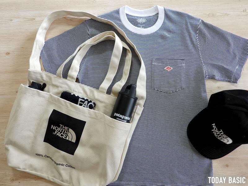 キャンバストートバッグのおすすめブランド「ノースフェイス・ユーティリティートート」の画像