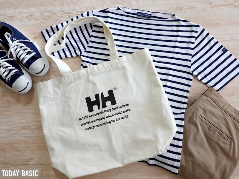 キャンバストートバッグのおすすめブランド「ヘリーハンセン・ロゴトートM」の画像