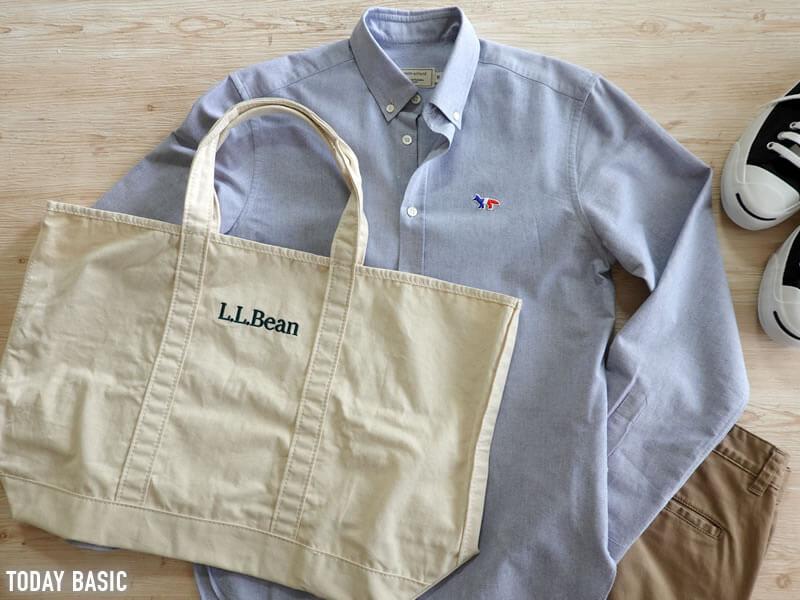 キャンバストートバッグのおすすめブランド「エルエルビーン・グローサリートート」の画像
