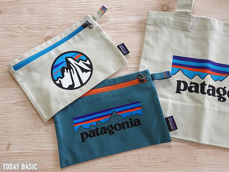キャンバストートバッグのおすすめブランド「パタゴニア・キャンバストートバッグとポーチ」の画像