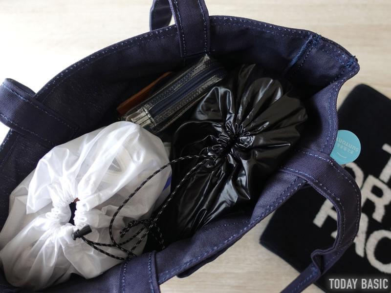 LLビーンのカタディン・キャンピング・トートバッグにスポーツジムグッズを収納