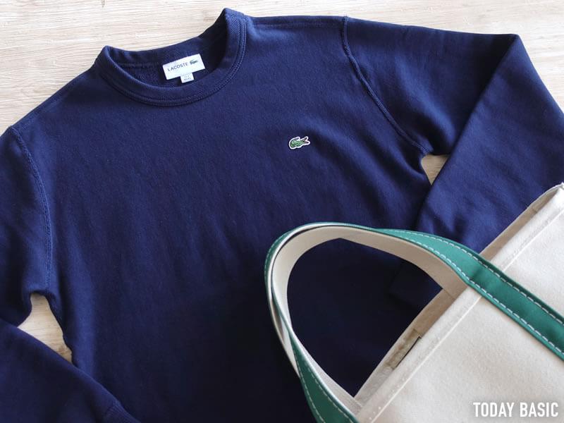 おしゃれなメンズトレーナー・スウェットシャツの人気ブランド・ラコステの画像