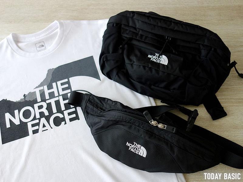 ザノースフェイスのウエストバッグは黒・ブラックが人気色