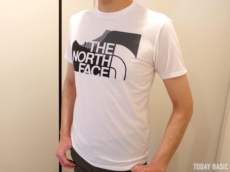 おしゃれなTシャツの人気ブランド・ザノースフェイスの画像