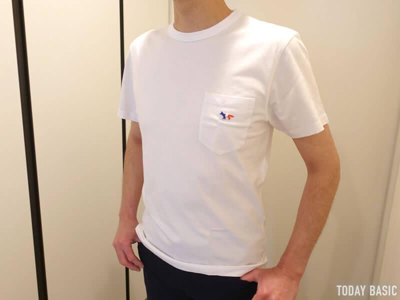 おしゃれなTシャツの人気ブランド・メゾンキツネの画像