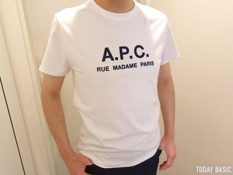 おしゃれなTシャツの人気ブランド・APCの画像