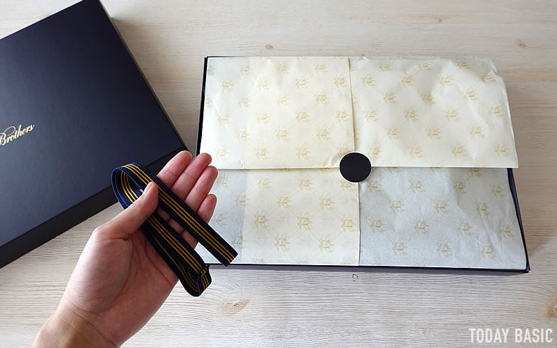 ブルックス ブラザーズ・ポロシャツのサイズ感のブログ画像