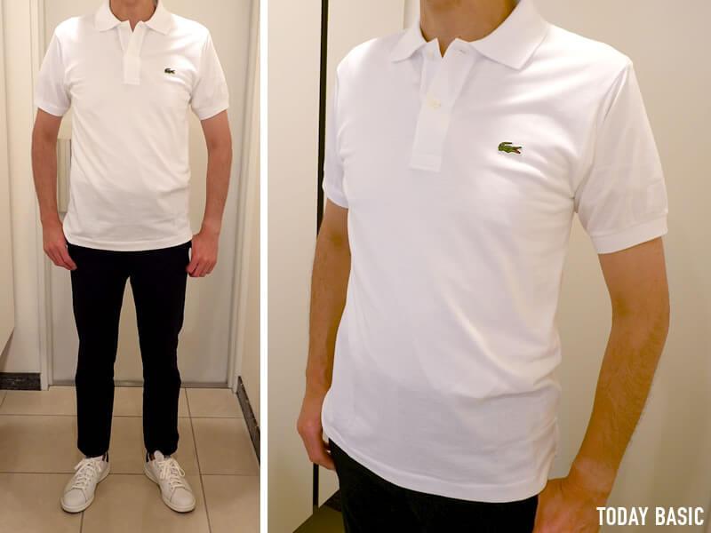 おしゃれなメンズポロシャツの人気ブランド・ラコステの画像