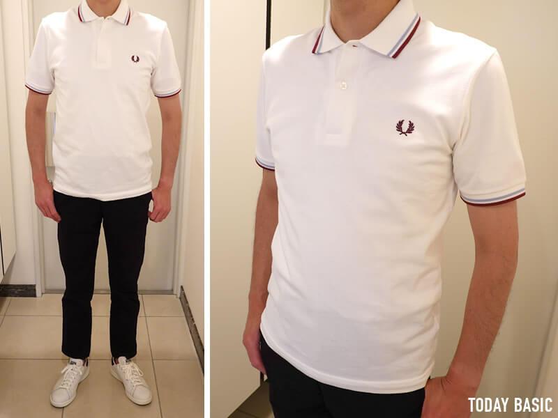 おしゃれなメンズポロシャツの人気ブランド・フレッドペリーの画像