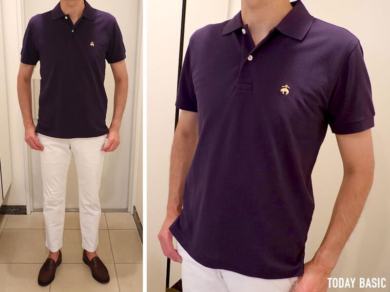 おしゃれなメンズポロシャツの人気ブランド・ブルックスブラザーズの画像