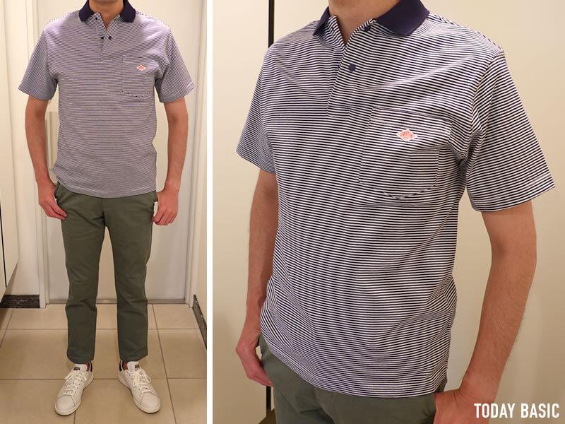 おしゃれなメンズポロシャツの人気ブランド・ダントンの画像