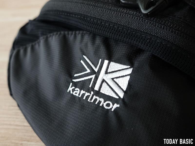 カリマーのウエストバッグ・SL2のブログ画像